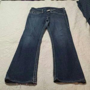 True Religion Women's Flare Jeans Size 32